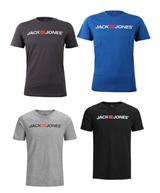 Bild zu 4er Pack Jack & Jones Herren T-Shirts für je 26,95€ zzgl. eventuell 4,99€ Versand