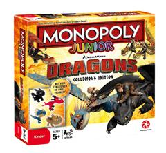 Bild zu WINNING MOVES Monopoly Junior Dragons mit exklusiven 3D-Spielfiguren für 14,99€ (Vergleich: 41,66€)