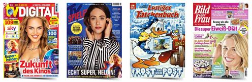 Bild zu Deutsche Post Leserservice: verschiedene 6-Monats-Abos (ab 16,80€) & Prämien im Wert von bis zu 20€ mit dazu