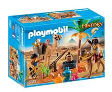 Bild zu Playmobil History – Grabräuber-Lager (5387) für 7,99€ (Vergleich: 12,94€)