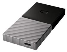Bild zu WD My Passport SSD 1000 GB Festplatte Schwarz/Silber für 189€ (Vergleich: 211,99€)