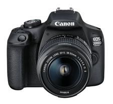 Bild zu CANON EOS 2000D Kit Spiegelreflexkamera (24.1 Megapixel, Full HD, 18-55 mm Objektiv (EF-S, IS II), WLAN) für 269€ (Vergleich: 320,98€)