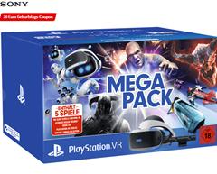 Bild zu SONY PlayStation VR Megapack: PlayStation VR &  PlayStation Camera & 5 Spiele (VOUCHER) für 259€ inkl. 20€ MediaMarkt Gutschein (Vergleich: 329€)
