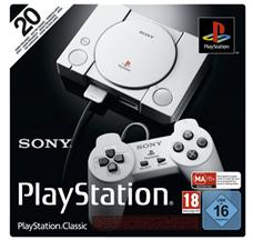 Bild zu SONY PlayStation® Classic für 39,99€ (Vergleich: 52,56€)