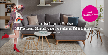 Bild zu Mömax: 30% Rabatt auf Möbel