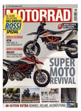 """Bild zu 26 Ausgaben der Zeitschrift """"Motorrad"""" für 117€ + 90€ Amazon Gutschein als Prämie für den Werber"""