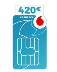 Bild zu Vodafone DataGo L mit 12 GB LTE Datenflat für rechnerisch 9,99€/Monat + 100€ Reisegutschein