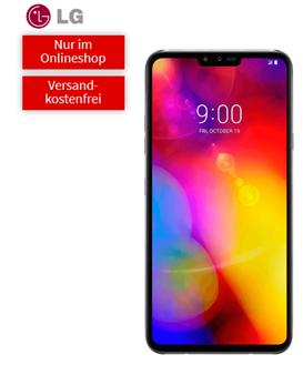 Bild zu [Hammer] LG V40 ThinQ (Vergleich 800€) für 40€ mit Telekom Tarif (1GB Datenflat, Sprachflat) für 21,99€/Monat – fast 200€ Ersparnis
