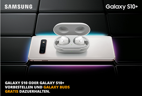 Bild zu [Info] Samsung S10: bis zum 07.03. das S10 oder S10+ vorbestellen und Galaxy Buds (Kopfhörer) gratis erhalten + einige Infos zum neuen Samsung S10