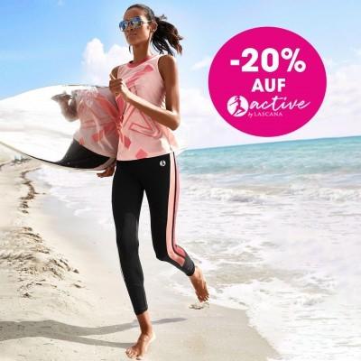 Bild zu Lascana: 20% Rabatt auf die Sportkollektion der Marke active by Lascana