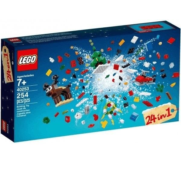 Bild zu Lego Weihnachtlicher Bauspaß (40253) für 8,49€ (Vergleich: 13,98€)