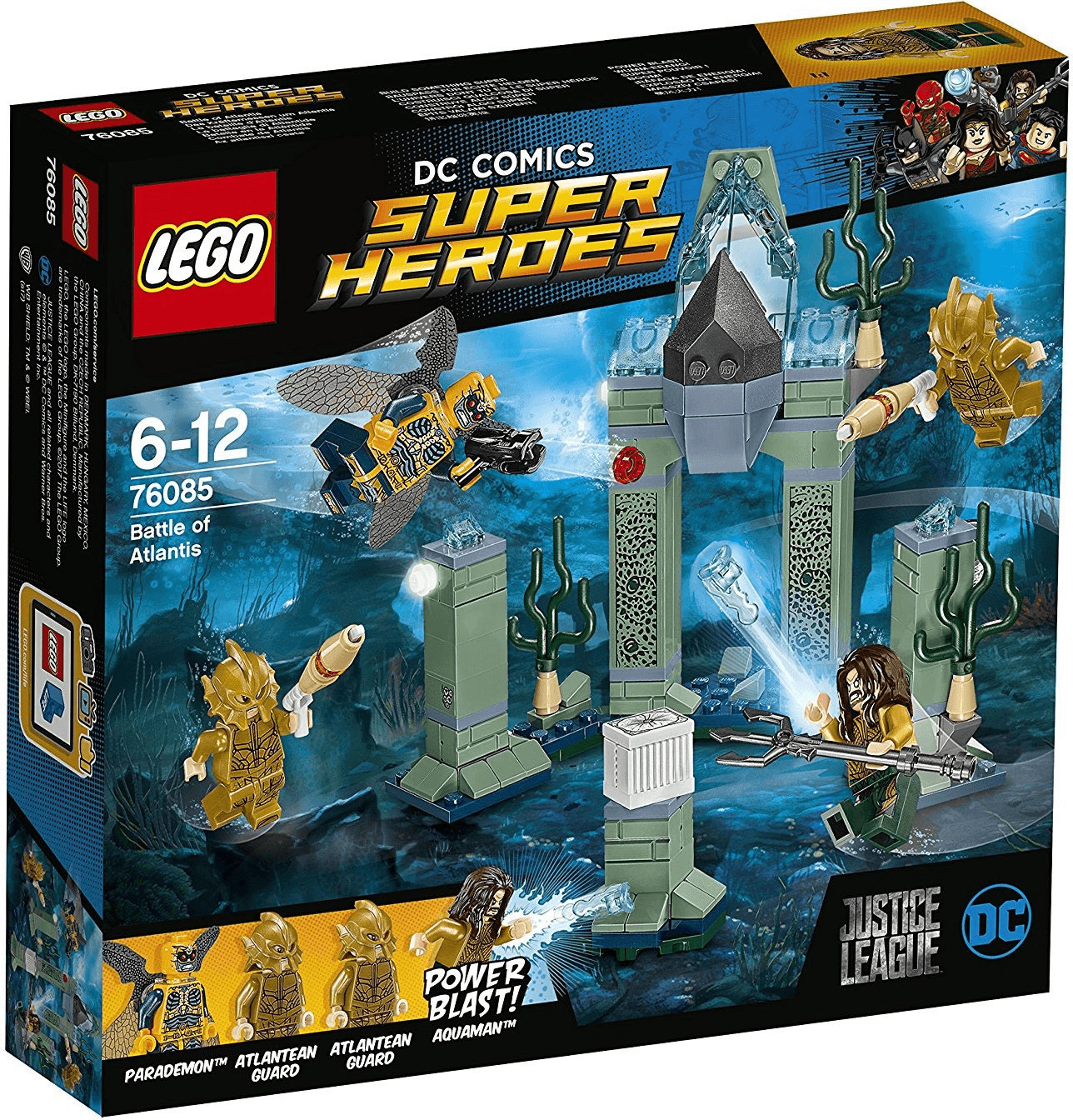 Bild zu Lego Das Kräftemessen um Atlantis (76085) für 15,99€ (Vergleich: 19,89€)