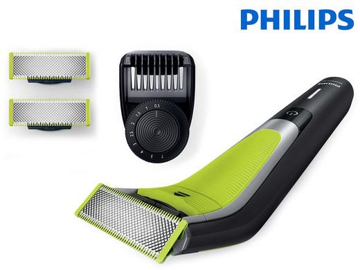 Bild zu Philips OneBlade Pro QP6505/21 Hybrid-Rasierer + 3 Ersatzklingen für 55,90€ inkl. Versand (Vergleich: 63,98€)