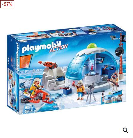 Bild zu PLAYMOBIL Action Polar Ranger Hauptquartier 9055 für 21,94€ inkl. Versand (Vergleich: 31,40€)