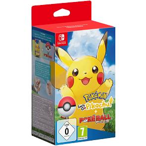 Bild zu Pokémon: Let's Go, Pikachu! + Pokéball Plus [Nintendo Switch] für 59€ (Vergleich: 94,19€)