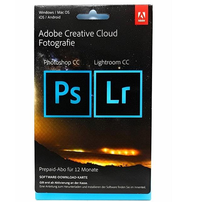 Bild zu Adobe Creative Cloud Foto Photoshop & Lightroom CC für 99,90€ (Vergleich: 134,95€)