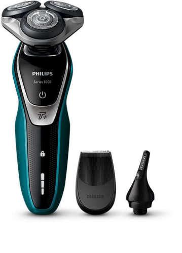 Bild zu Philips Shaver Series 5000 S5550/44 Nass- und Trockenrasierer für 80,99€ (Vergleich: 108,30€)