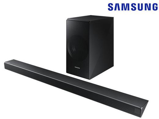 Bild zu 3.1 Bluetooth Soundbar Samsung HW-NW550 für 208,90€ (Vergleich: 246,05€)