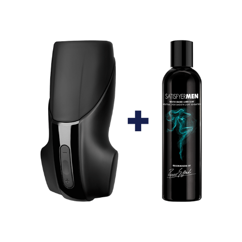 Bild zu Eis.de: Satisfyer Men Vibration + 300 ml Gleitgel + 6 Gratisartikel für 15,96€ inkl. Versand (Vergleich: 37,85€)