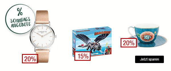 Bild zu Galeria Kaufhof Sonntags-Angebote, so z.B. 15% Rabatt auf Playmobil