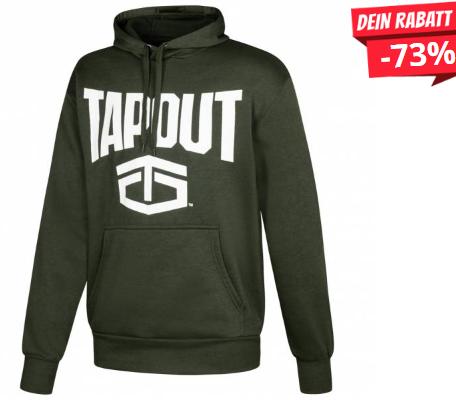 Bild zu SportSpar: Tapout Classic Kapuzen Hoody für 15,94€ inkl. Versand (Vergleich: 19,99€)