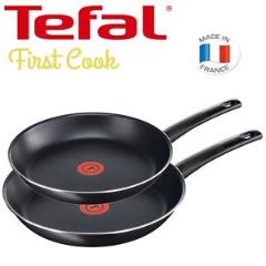 Bild zu Tefal First Cook 2-teiliges Pfannenset (24 & 28 cm) für 24,95€ inkl. Versand (Vergleich: 34,99€)