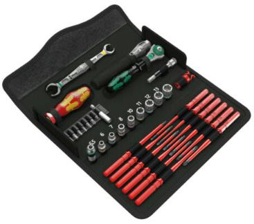 Bild zu Wera Kraftform Kompakt W 1 Werkzeug-Set (35-teilig) für 79,70€ inkl. Versand (Vergleich: 87,49€)