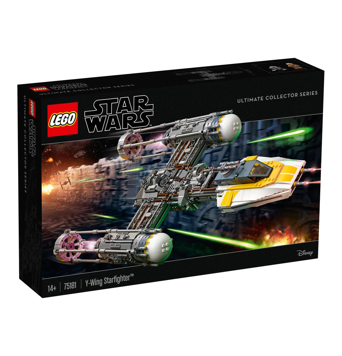 Bild zu Lego Star Wars Y-Wing Starfighter (75181) für 173,99€ (Vergleich: 199€)