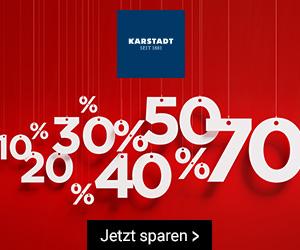 Bild zu Karstadt: 10€ Rabatt ab 50€ Einkaufswert (nur für Kundenkarten-Inhaber)