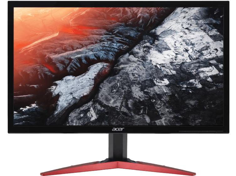 Bild zu ACER KG241QP 23.6 Zoll Full-HD Gaming Monitor (1 ms Reaktionszeit, FreeSync, 144 Hz) für 169€ inkl. Versand (Vergleich: 199€)