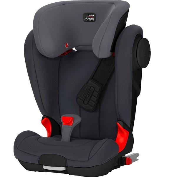 Bild zu Britax Römer Kindersitz Kidfix II XP Sict Black Series für 194,99€ (Vergleich: 226,61€)