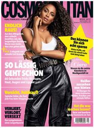 """Bild zu Deutsche Post Leserservice: Jahresabo """"Cosmopolitan"""" für 31€ + bis zu 30€ Prämie"""
