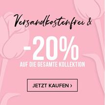 Bild zu Hunkemöller: 20% Rabatt auf die gesamte Kollektion + kostenloser Versand