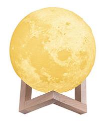 Bild zu TaoTronics 3D-gedruckte Mond Lampe  (15 cm) mit drei Farbmodi für 12,59€
