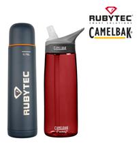Bild zu Rubytec Shira Thermosflasche (0,75l) + Camelbak Eddy Trinkflasche (0,75l) für 25,90€ (Vergleich: 52,08€)