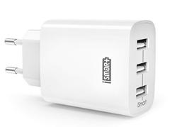 Bild zu [Prime] RAVPower USB Ladegerät 3-Port 30W 6A Ladeadapter mit iSmart Technologie für sämtliche Smartphones für 11,19€ inkl. Versand