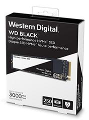 Bild zu WD Black NVMe SSD 250 GB interne M.2 2280 Festplatte (bis zu 3000 MB/s Lese- und 1600 MB/s Schreibgeschwindigkeit) für 58€ (Vergleich: 68,99€)