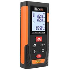 Bild zu Tacklife HD 60 Klassischer Laser-Entfernungsmesser (Messbereich 0,05~60m/±2mm) für 20,99€