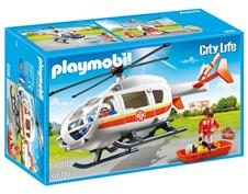 Bild zu PLAYMOBIL® City Life Rettungshelikopter 6686 für 20€ (Vergleich: 26,34€)
