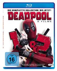 Bild zu Deadpool 1+2 – (Blu-ray) für 16,20€ (Vergleich: 21,95€)