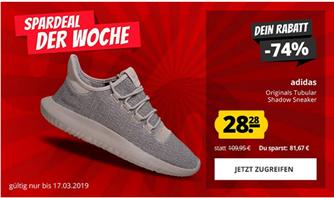 Bild zu SportSpar: adidas Originals Tubular Shadow Sneaker ab 28,28€ zzgl. 3,95€ Versand