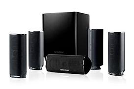 Bild zu HARMAN KARDON 5.1-Heimkino-Lautsprechersystem HKTS 16BQ schwarz für 249,99€ (Vergleich: 373,50€)
