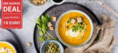Bild zu Little Lunch SouperDeal: 12 Suppen für 18€ inklusive Versand (nur für Neukunden)