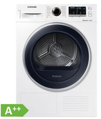 Bild zu Samsung DV8TM5010QW/EG Wäschetrockner 8kg A++ für 444€ inkl. Versand (Vergleich: 549€)