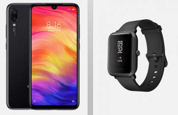 Bild zu Blau Allnet L (3GB LTE Daten + Allnet Flat + SMS Flat) inkl. Xiaomi Redmi Note 7 + Xiaomi Huami Amazfit Smartwatch für 14,99€/Monat