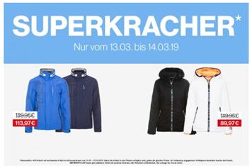 Bild zu Camp David & Soccx: Superkracher (dieses mal Jacken) mit 40% Rabatt