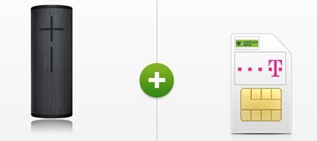 Bild zu Logitech UE Megaboom 3 für 39€ mit 10GB Telekom LTE Datenflat für 15,99€ pro Monat