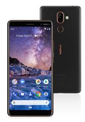 Bild zu Nokia 7 Plus Smartphone (6 Zoll) 64 GB schwarz/Kupfer für 205,90€ (Vergleich: 261,98€)
