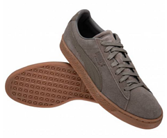 Bild zu PUMA Suede Classic Natural Leder Sneaker Natural Warmth für 34,94€ (Vergleich: 44,94€)