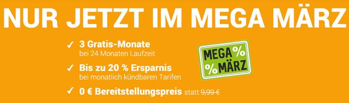 Bild zu WinSIM/PremiumSIM mit 1€ Rabatt pro Monat bei den monatlich kündbaren Tarifen + kein Bereitstellungspreis, so z.B. 2GB LTE Datenflat, SMS- und Sprachflat für 6,99€ im Monat